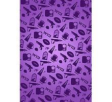 Warehouse 13 Case (Purple) Photographic Print