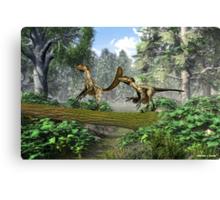 """Deinonychus """"terrible claw"""" Canvas Print"""
