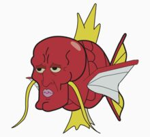 Handsome Squidward Magikarp by SwankyOctopus