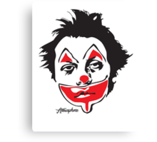 Why So Sad, Clown? Canvas Print
