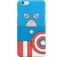 Marvel Captain America (Cute Minimalistic Version) iPhone Case/Skin
