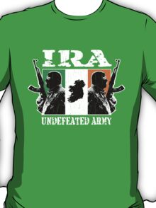 IRA Undefeated Army (Vintage Distressed) T-Shirt