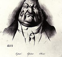 Honore Daumier by KDRandhawa