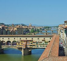 Ponte Vecchio Bridge, Florence by roger smith