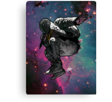 Meet Me In Outer Space Canvas Print
