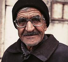Friendly Face: Street Vendor in Istanbul, Turkey by thewaxmuseum
