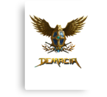Demacia logo Canvas Print