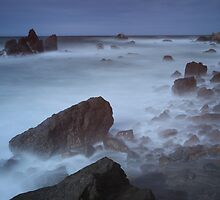 Waves on the Rocks V. by Rafal Antoniuk