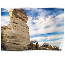 Forgotten Face: Hiking in Cappadocia, Turkey Poster