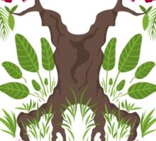Jungle spirit face Sticker