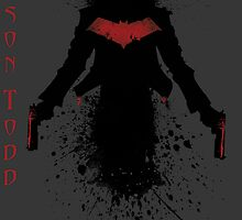 Jason Todd - The Red Hood (Black Splatter) by Az McAarow