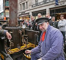 Salvesen steam vehicle at the Regent Street Motor Show 2013 by Keith Larby