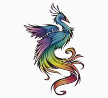 Rainbow bird by Grace7