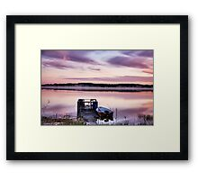 Lilac dawn Framed Print