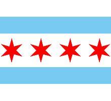 Chicago Flag by Dean Dunakin