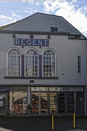 Regent Cinema, Lyme, Dorset.UK by lynn carter