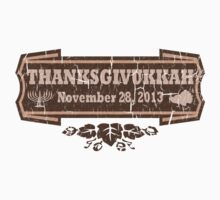 Vintage Thanksgivukkah November 28 2013 T-Shirt