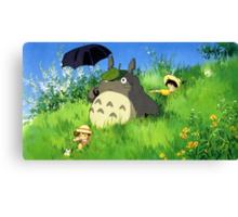 Tonari no Totoro Canvas Print