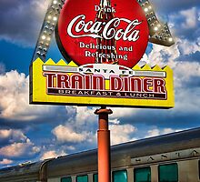 Santa Fe Train Diner by FireDzine
