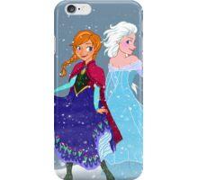 Frozen - Anna and Elsa iPhone Case/Skin