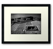 The Big Ol' Barn of Haunting Memories Framed Print