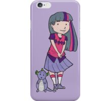 Twilight Sparkle and Spike  iPhone Case/Skin
