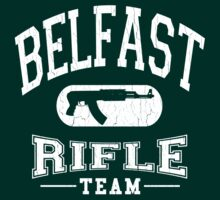 Belfast Rifle Team (Vintage Distressed)  by robotface