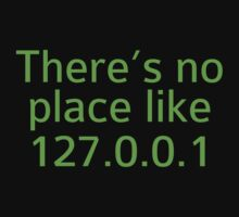 There's No Place Like 127.0.0.1 by BrightDesign