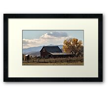 Mr. Jones had a barn ... Framed Print