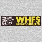 WHFS 102.3FM Alternative Radio Station Bumper Sticker Design by Framerkat