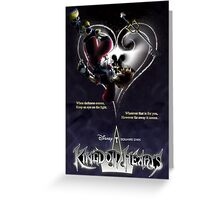 Kingdom Hearts - When Darkness Comes Greeting Card