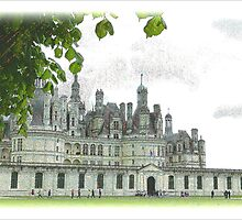 Chambord on the Loire by hans p olsen
