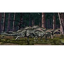 Monolophosaurus Photographic Print
