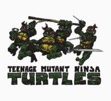 Teenage Mutant Ninja Turles by Judas Moreno
