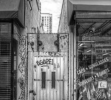 Eclectic Alley Door by njordphoto