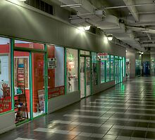Shop Corridor by njordphoto
