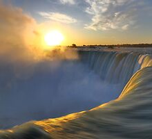 Niagara Falls art photo print by ArtNudePhotos