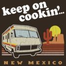 Funny - Keep on Cookin'! (Br Ba) Distressed Vintage Design by robotface