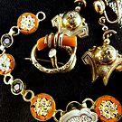 Victorian Jewellery (orange) by Peta Hurley-Hill