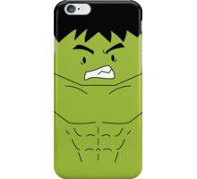 The Hulk (Cute Minimalistic Version) iPhone Case/Skin
