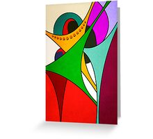 Joyous #3 Greeting Card