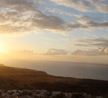 Panoramic view of Sunset on Savanna by SwaggyProd