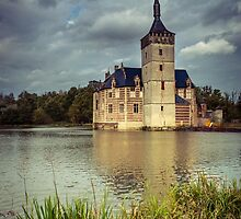 Castle in Flanders, Belgium by Koen Scheys