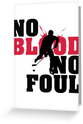 Hockey: No blood no foul by nektarinchen