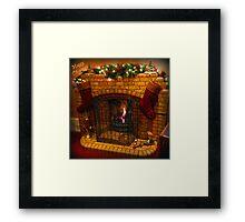 Warmest Christmas Greetings Framed Print