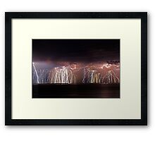 Fremantle Thunderstorm  Framed Print