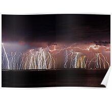 Fremantle Thunderstorm  Poster