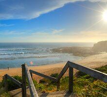Kilcunda Surf Beach by Johann Vandendaallen