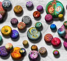 Abstract - Marbles by Mike  Savad