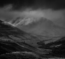 Clouds in Glen Roy by Alan E Taylor